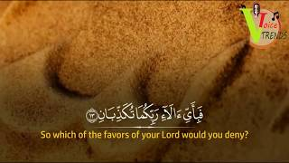 surah rahman - beautiful and heart trembling quran recitation by