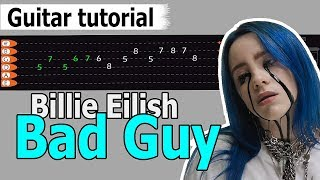 Download Billie Eilish - Bad Guy Easy Guitar Tutorial, Chords, How to Play, Guitar Lesson Video