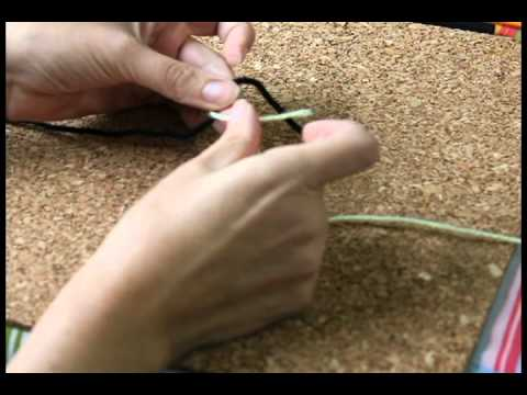 How to tie a Fisherman's knot to tie two ropes together