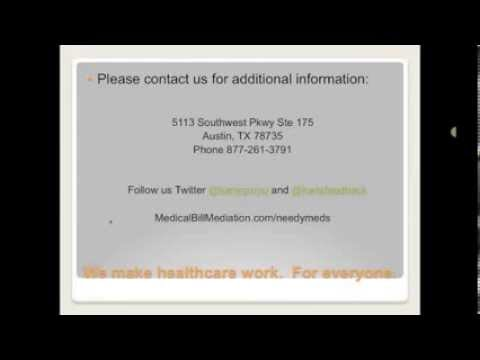 Assistance with Expensive Bills with Medical Bill Mediation