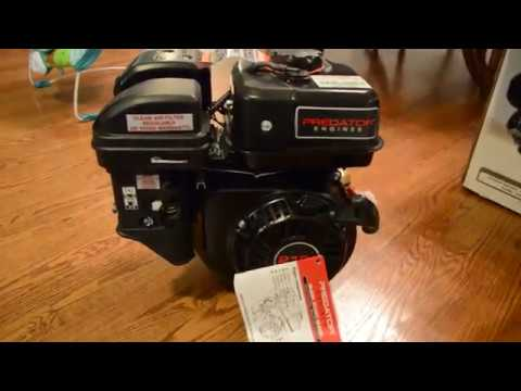 Unboxing of 6.5HP Predator Harbor Freight Engine