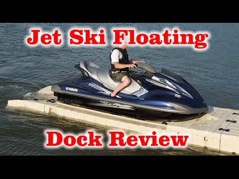 Review of Jet Ski Floating Boat Lift wave armor dock