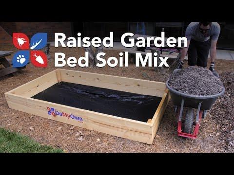 Do My Own Gardening - Raised Garden Bed Soil Mix - Ep2