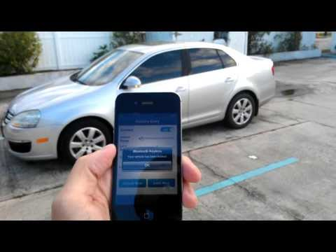 Quick Demo Bluetooth Keyless Premium - Unlock Car WIth Cell Phone