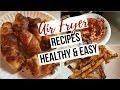 Air Fryer Recipes| Healthy & Easy!