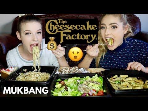 CHEESECAKE FACTORY MUKBANG!!! | Mukbang Monday