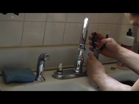 Moen High Arc Kitchen Faucet -Dripping (Leak) Repair
