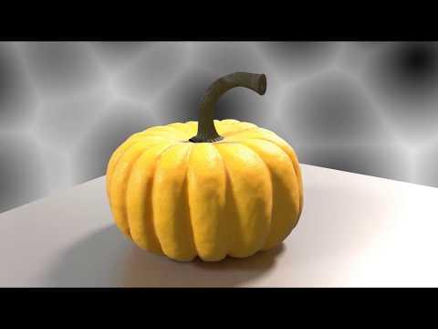 Moving Pumpkin (Blender 2.79)