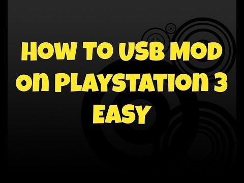 HOW TO PUT MODS ON YOUR PS3 USING A USB (gamesaves only)