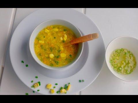 സ്വീറ്റ് കോൺ സൂപ്പ്||Restaurant Style  Sweet Corn Vegetable Soup | Sweet Corn Soup|Ep:259