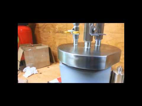 TAMISIUM BUTANE OIL EXTRACTORS RC Tank Heater and Strap installation