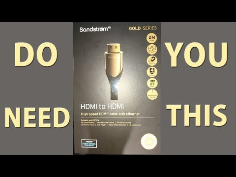 Do You Need This HDMI Cable? 4K Quality - My Gaming Set Up