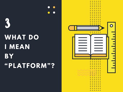 "What do I mean by ""platform""? - Content Management System(CMS)"