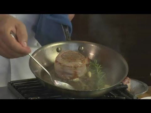How to Make Bacon-Wrapped Steaks : Surf & Turf
