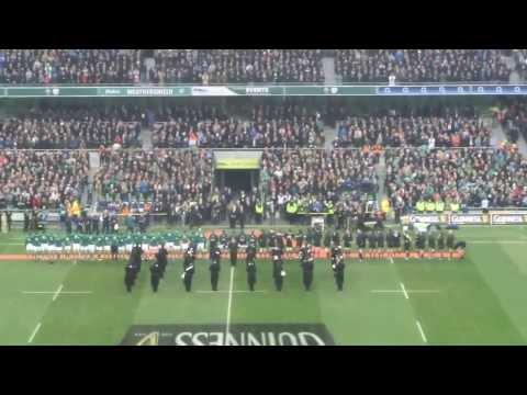 Ireland's anthem and call  Ireland vs New Zealand