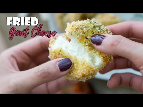 Fried Goat Cheese | Easy Keto Appetizer!