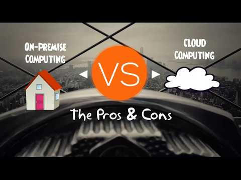 On Premise VS Cloud Computing - Pros and Cons Comparison