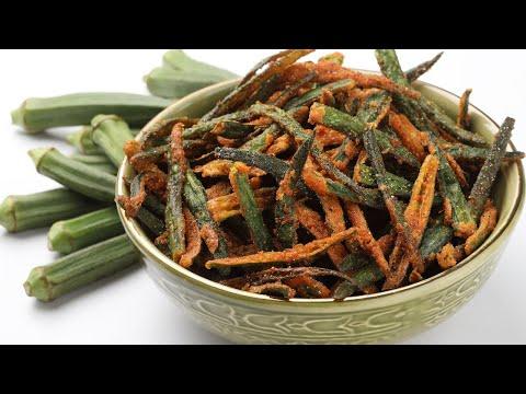 KURKURE BHINDI | CRISPY & CRUNCHY कुर्कुरे भिन्डी RECIPE | Yummy Food World 🍴 103
