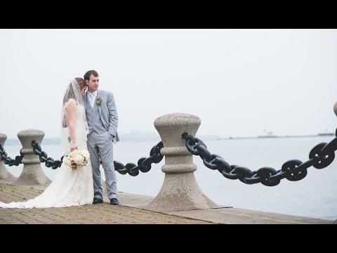 CHRISTINE + ANTHONY    HYATT REGENCY CLEVELAND AT THE ARCADE   WEDDING HIGHLIGHT VIDEO