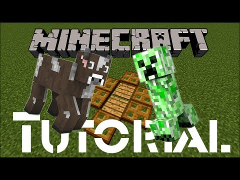 Minecraft Tutorial: How to Build a Simple Animal / Mob Trap