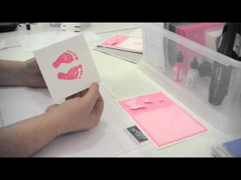 Bereavement Footprint Cards