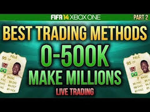FIFA 14 HOW TO TRADE WITH 500K+ AND WITH SLIVER TRANSFERS