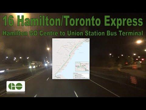 16 Hamilton/Toronto Exp. - GO Transit 2016 ADL Enviro500