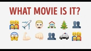 Can you guess the movie based on the emojis?