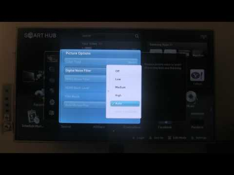 [HD] Samsung UN55D7000 - Smart Hub/Internet Browser/TV Settings