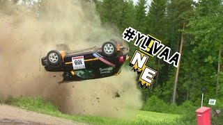 BEST RALLY CRASHES 2016 | By: NE-Rallyvideos