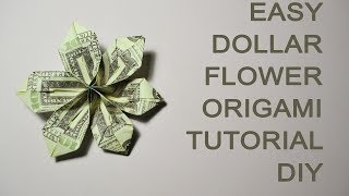 How to Make Flowers out of Dollar Bills - YouTube | 180x320