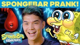 SpongeBar Prank w/ Alex Wassabi! 😆 VidCon 2019   SpongeBob