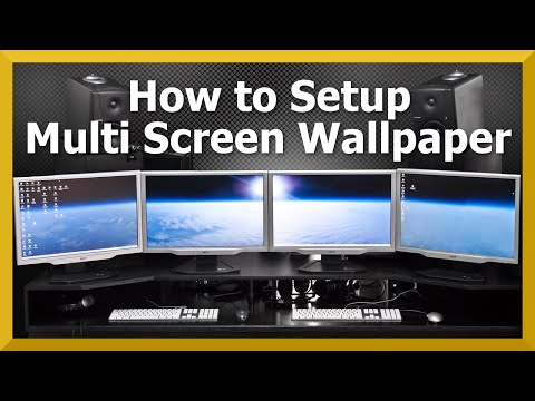 TUTORIAL: Multi Monitor Wallpaper | How to Guide