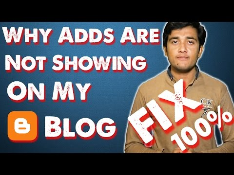 My Ads Are Not Showing On Blogger Hindi Fix 100%   Tube Leader