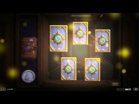 Hearthstone - 40 Karten Packs öffnen! °A° Heilige...
