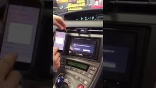 How to set up wireless CARPLAY Alpine ILX-107