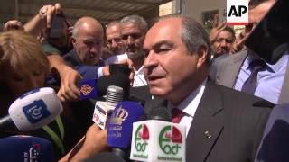 Jordan PM Al Mulki votes in election