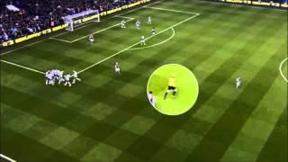 OUTRAGEOUS! Referee Mike Dean Celebrating Spurs goal vs Aston Villa