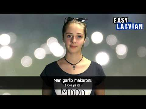 10 Phrases to describe yourself in Latvian - Easy Latvian Basic Phrases (3)