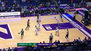 Jordan Ash One-Hand Throw Down vs. Chicago State