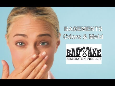 Basements - Odors & Mold by Bad Axe Restoration Products
