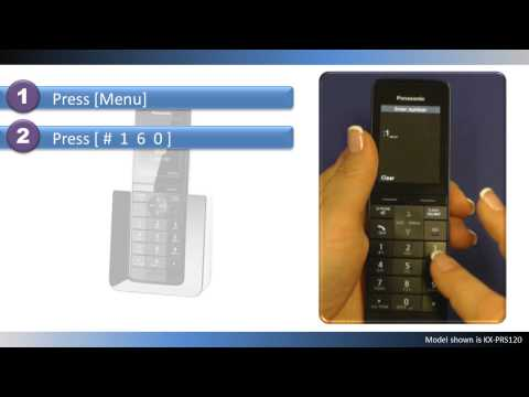 2014/15 Panasonic Cordless telephones -- How to turn off the ringer