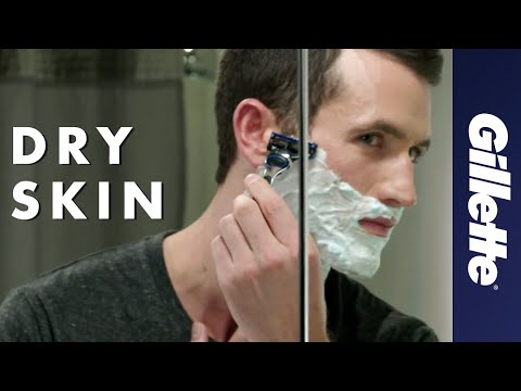 Shaving Dry Skin | How to Shave