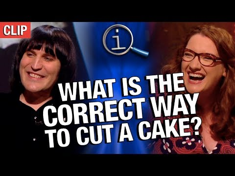 QI | What Is The Correct Way To Cut A Cake?