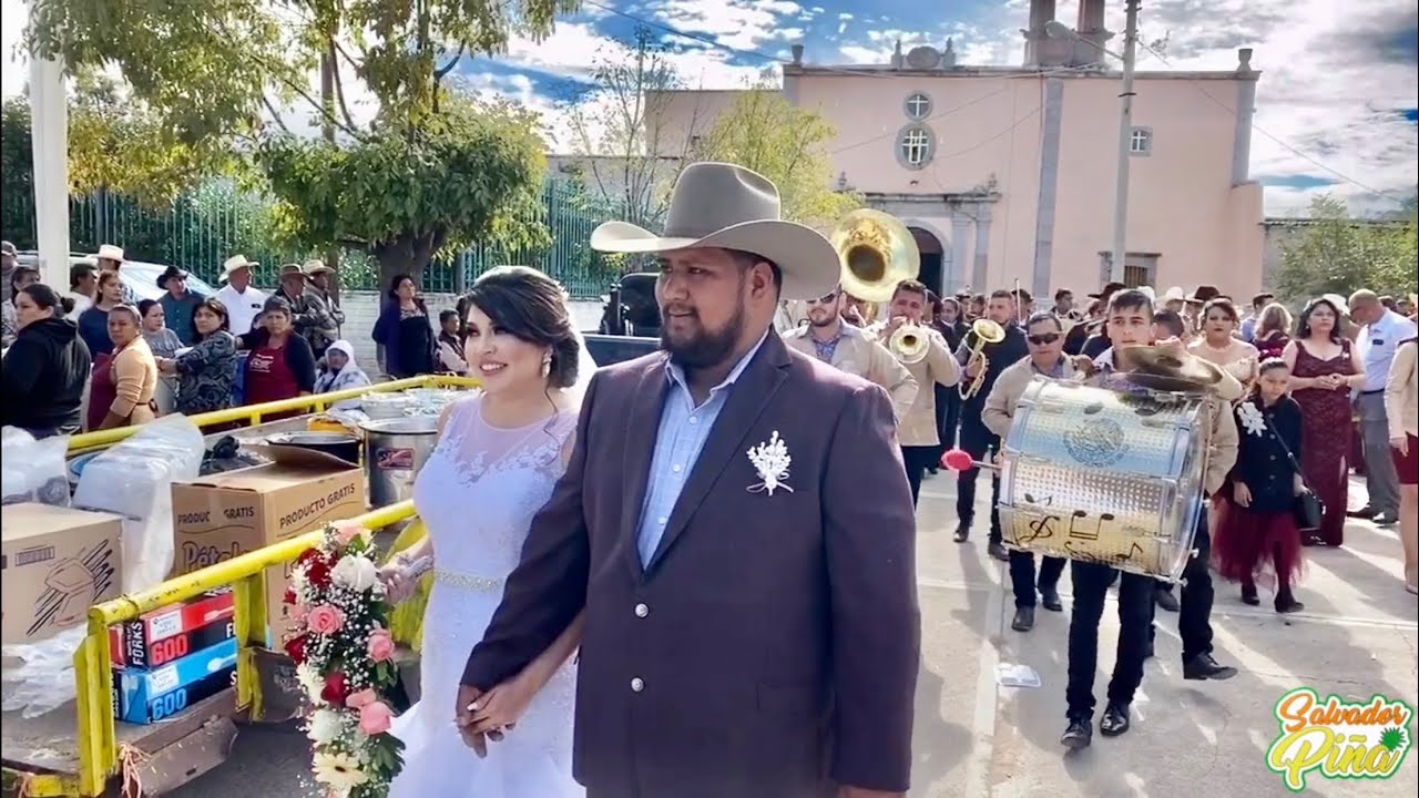 Boda Anaissa y Daniel   San Miguel Valparaíso Zacatecas 2019   Diciembre 26