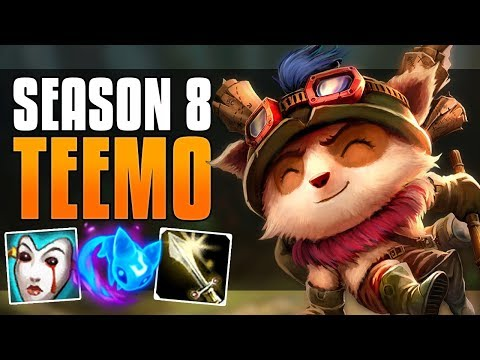 POISON YOUR ENEMIES!! - SEASON 8 TEEMO GUIDE - LEAGUE OF LEGENDS