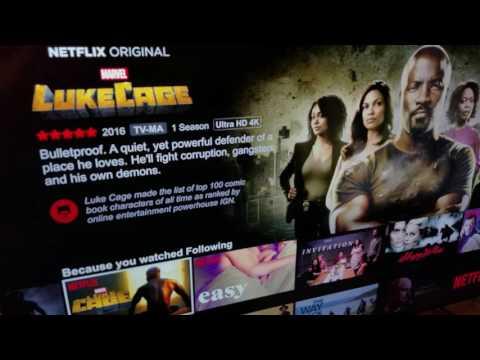 Testing Netflix 4K on PS4 Pro