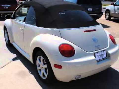 2005 VOLKSWAGEN NEW BEETLE CONVERTIBLE - Worfforth TX