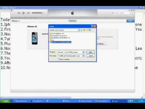 How To Restore Any Iphone,Ipad 2014 Without Turning Off Find My Iphone!!!