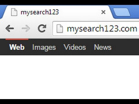 How to remove Mysearch123.com (Chrome/FF/IE)